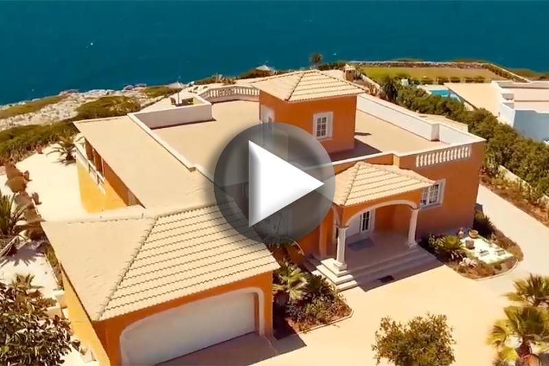 Luftbildaufnahme Villa Mallorca