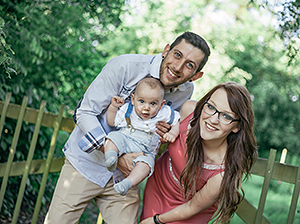 Familienfoto Fotostudio Trier