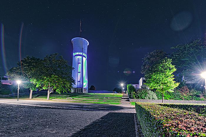 Wasserturm in Trier von Studio-54