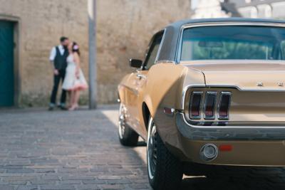 Mustang Rockabilly Hochzeit