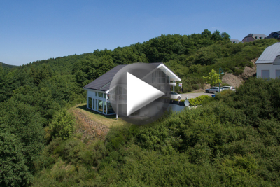 Luftbildaufnahme Immobilie