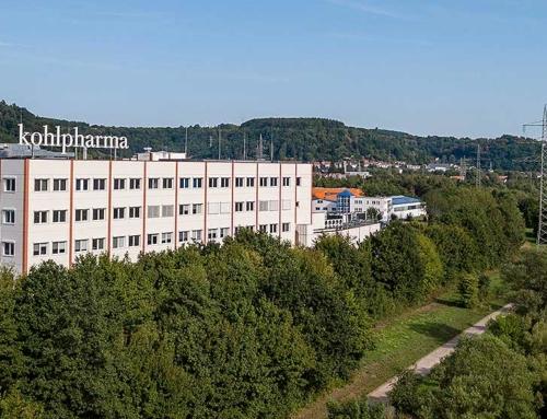 Dreharbeiten bei Kohlpharma in Merzig