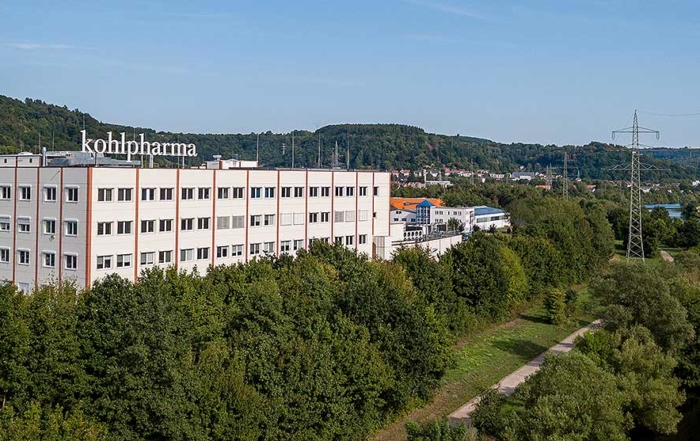 Luftbild der Firma Kohlpharma